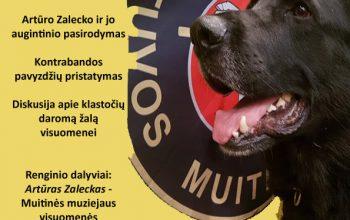 Paskaita apie šunų dresūrą bei kinologų darbo užkulisius