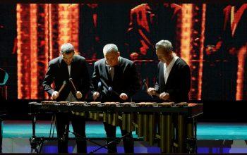 Virtualus unikalių perkusininkų ansamblio koncertas