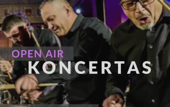"""Giunter Percussion"" OPEN AIR koncertas"