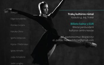 Garsiausių baleto pasirodymų ištraukos