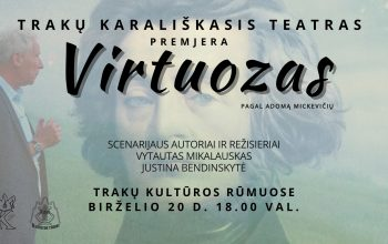 """Spektaklio """"Virtuozas"""" premjera"""
