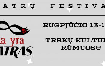 "Teatrų festivalis ""čia yra teatras"""