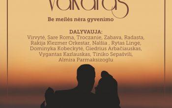 """Spalio 1 d. Trakų kultūros rūmuose vyks projekto """"Romansų magija"""" koncertas"""