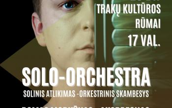 Akoredono festivalio baigiamąjį koncertą Trakų kultūros rūmuose spalio 23 d. 17 val.