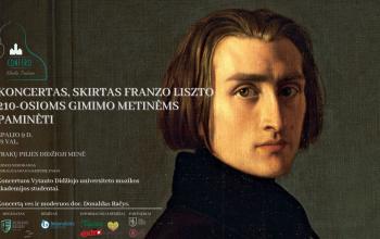 Koncertas, skirtas Franzo Liszto 210-osioms gimimo metinėms paminėti | Klasika Trakuose
