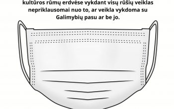 Svarbi informacija Trakų kultūros rūmų lankytojams!