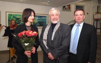 """Trakų kultūros rūmų meno galerija """"Fojė"""" šventė trečiąjį gimtadienį"""